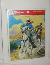 VINTAGE THE LONE RANGER FRAME-TRAY PUZZLE WHITMAN