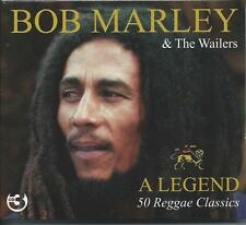 Bob Marley - A Legend - 50 Reggae Classics (3CD 2007) NEW/SEALED