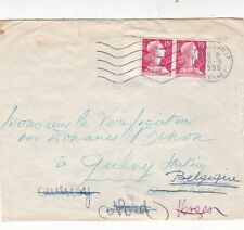 France 1956 Charleville-Quievy-Aulnois Cover VGC