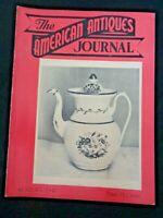 1947 AMERICAN ANTIQUES Journal Phoenixville Majolica Tucker and Hemphill China