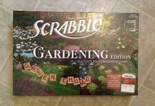 Scrabble Gardening Edition Board Games Crossword Game New Sealed USAopoly Hasbro