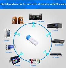 Bluetooth USB Estéreo Receptor De Audio Música Adaptador Para