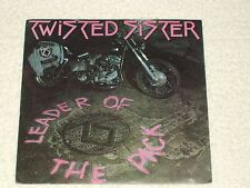 """TWISTED SISTER LEADER OF THE PACK """"PROMO"""" SPANISH HARLEY DAVIDSON COVER 7"""""""
