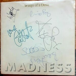 madness wings of a dove signed (including Chas)