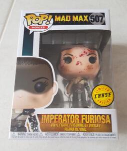 MAD MAX -  IMPERATOR FURIOSA CHASE EXCLUSIVE FUNKO Pop Vinyl Figure *NEW* RARE!