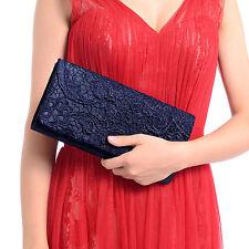 Vintage Damentasche Abendtasche Handtasche Spitze Clutch Tasche Bag Hochzeit