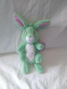"Over The Moon Jade Bunny 12"" Plush Netflix NWT Mint Green Easter Stuffed Animal"