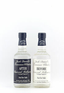 Jack Daniels Before and After Set Tennessee Whiskey  2 x 375ml  RARE
