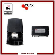 Préamplificateur & Alimentation LTE Triax EAM 121 UHF Gain 15 dB Réglable