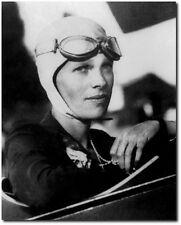 Amelia Earhart with goggles - Remastered 8 x 10 Photo - Aviation Art & Gifts