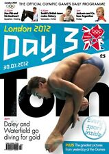 * OLYMPIC GAMES DAY 3 PROGRAMME LONDON 2012 *