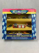 RARE Micro Machines Galoob #74449 Custom Car Shop Collector Set Target Exclusive