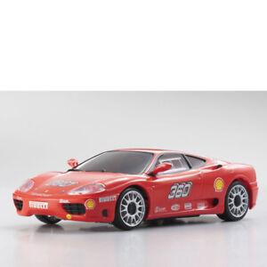 Mini-Z Karosserie 1:24 Ferrari 360 Challenge rot MR-03 W MR-02 RM Kyosho MZP-331