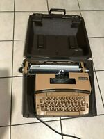 Vintage Electric Smith-Corona Typewriter With Case