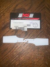 Ms Composit E136 Tail Blades Compact Ean Rc Heli Helicopter Rotor
