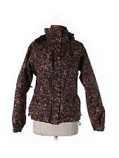 Women Salomon Clima Pro Acti Loft Pink Brown Ski Coat Jacket Size XS