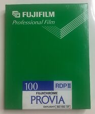 FUJIFILM Professional Film RDP II FUJICHROME Provia 100 10 Sheets 4x5 Ex 2000-11