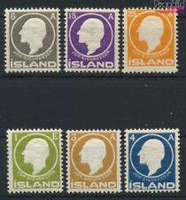 Islande 63-68 neuf 1911 sigurdsson (9077391