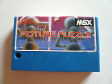 Msx game-picture puzzle-be