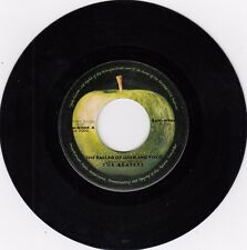 "THE BEATLES MY THE BALLAD OF JOHN AND YOKO 1969  RECORD YUGOSLAVIA  45rpm 7"""