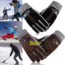 Waterproof Men's Women' Winter Ski Warm Gloves Motorcycle Driving Gloves Mittens