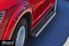 """iBoard Side Steps Nerf Bars 4""""  Fit 09-18 Dodge Journey"""