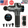 Massage Gun Percussion Massager Muscle Vibration Relaxing Therapy Tissue Gun USA
