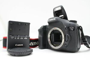 【 MINT 】CANON EOS 7D Body DSLR Shutter Counts 3209 From JAPAN
