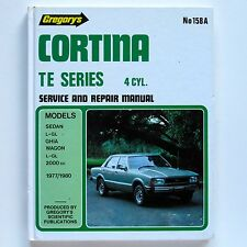 Ford Cortina TE Series 4-Cyl 1977-80 Gregory's Service & Repair Manual #158A