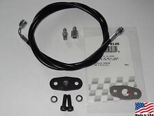 96-04 4.6 Ford Mustang 1/4in (Black) EGR Delete Kit with #3 Boost Vacuum Hose