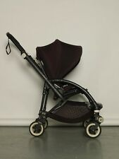 Bugaboo Bee3 Black Aluminium Frame Single Seat Stroller with Rain Cover