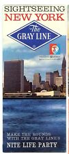 Old 1964-65 New York World's Fair The Gray Line Sightseeing Tour Brochure
