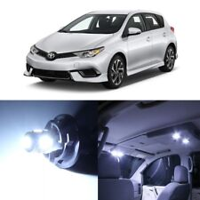10 x White LED Interior Lights Package For 2016 - 2018 Toyota Scion iM +PRY TOOL