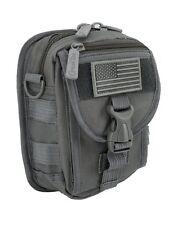 IMPACK RT1520 Tactical Waist Belt Bag Pack Molle Pouch Utility Gadget Bag -Black