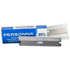 Personna Stainless Disposable Single Edge Shaving Razor Blade 5 Blades