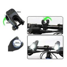 CYCLE BICYCLE LIGHT FRONT TORCH LED FLASHLIGHT MOUNT BRACKET CLIP HOLDER selling