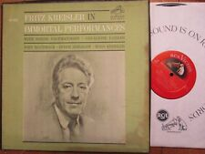LM-6099 Fritz Kreisler In Immortal Performances 2 LP box set