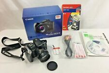 Canon Power Shot SX10 IS Camera Complete w/ Box Cords Software Strap SD Card