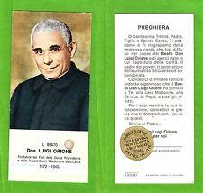 Reliquia - Santino - Reliquiario - san Luigi Orione