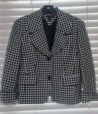 Tommy Hilfiger New Womens Wool Blend Jacket Herringbone...