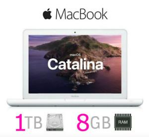 "Apple Macbook 13"" Laptop White | UPGRADED 8GB RAM 1TB HD | MAC OS 2019 |WARRANTY"