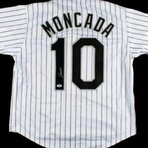 Yoan Moncada Signed Jersey (PSA COA)Chicago White Sox