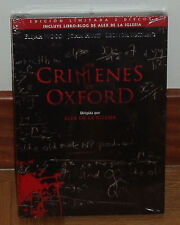LOS CRIMENES DE OXFORD THE OXFORD MURDERS 2 DVD NUEVO NEW SEALED (SIN ABRIR) R2