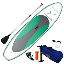 Serene-Life SLSUPB20 10 FT Inflatable Stand-Up Paddle Board (SUP) W/ Accessories