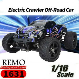 REMO 1631 1/16 2.4G Remote Control 4WD Electric Crawler Car Off-road Vehicle RTR