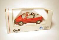 Volkswagen VW Golf 3 III Cabrio ROLLING STONES rot rouge red Schabak 1:43 boxed