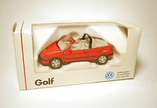 Volkswagen VW Golf 3 III Cabrio ROLLING STONES rot rouge red Schabak 1:43 boxed
