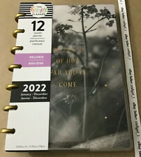 New The Happy Planner 2022 Listen To Your Heart Wellness Mini 12 Month Planner
