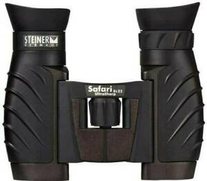 Steiner Safari Ultrasharp 8 x 22 Compact Travel Roof Binoculars (UK Stock)  BNIB