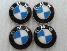 4Pcs 65mm Logo Wheel Centre Badge Sticker Emblem Cover Fits BMW Hub Caps